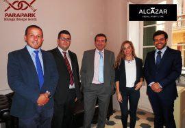 El equipo de Alcazar estuvo en el Parapark Málaga, Alcázar Abogados - Expertos reestructuraciones empresariales o societarias.